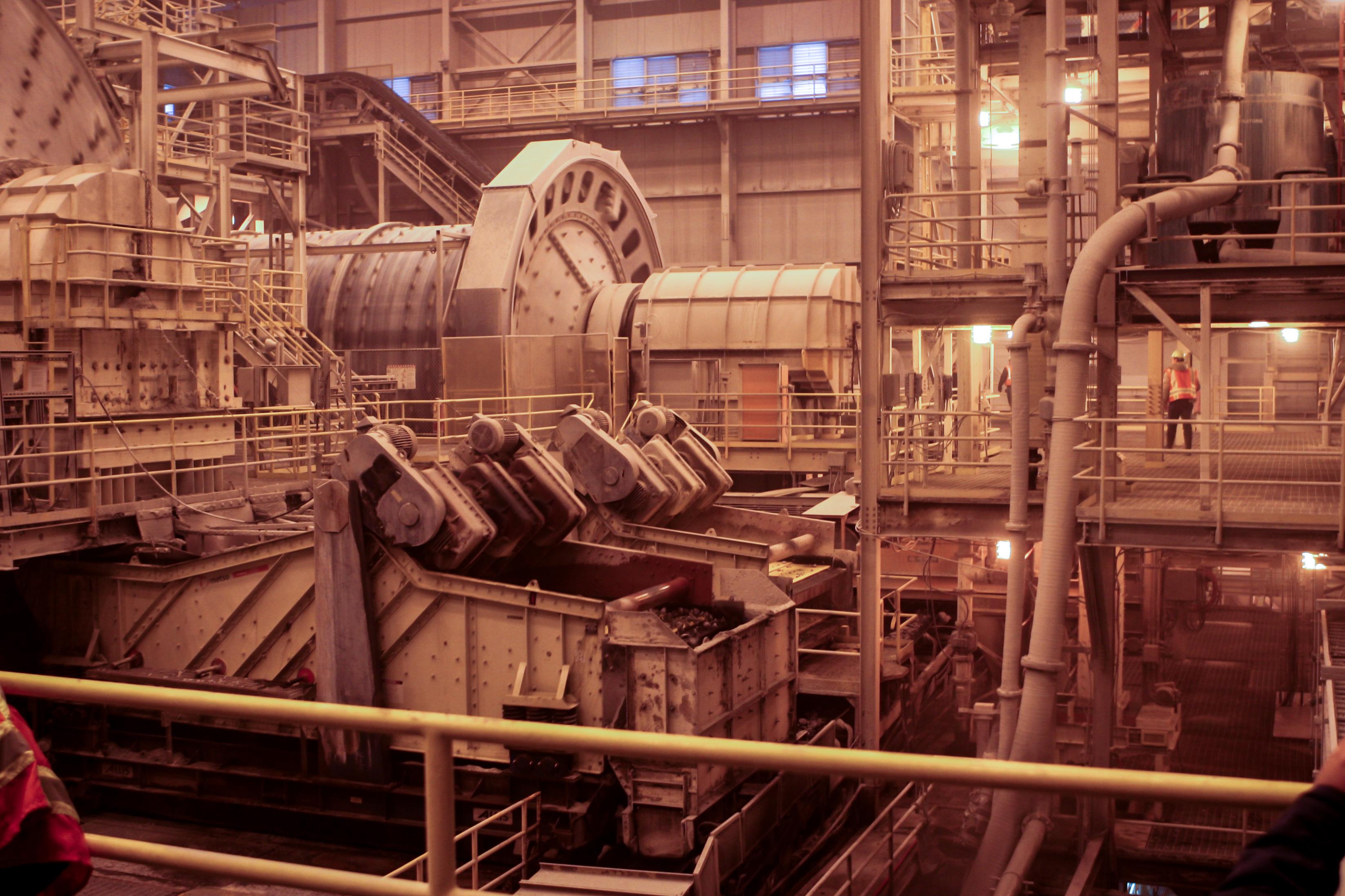 A ball mill