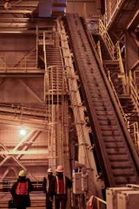 Conveyor Pogo Mine