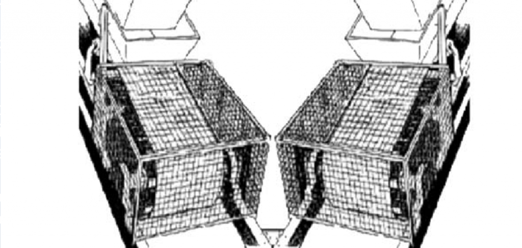 A diagram showing an effective pulley guard
