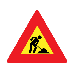 People Working sign