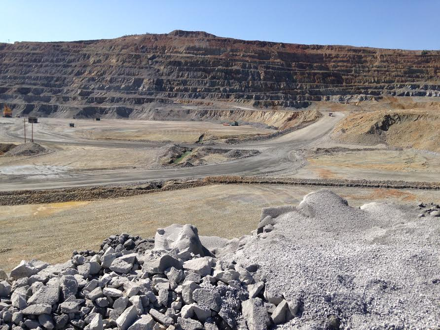 A copper mine