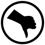 Image of thumbs down