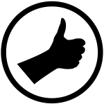 Image of a thumbs up