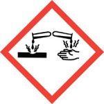 Standard Hazard Warning - Corrosion