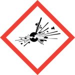 Standard Hazard Warning - Explosion