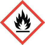 Standard Hazard Warning - Flame