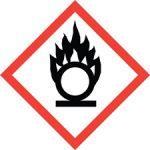 Standard Hazard Warning - Flame over circle