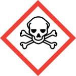 Standard Hazard Warning - Skull