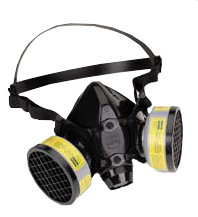 North 7700 Series Half Mask Air-Purifying Respirator. Source, US Centers for Disease Control and Prevention - Electronic Library of Construction Occupational Safety and Health