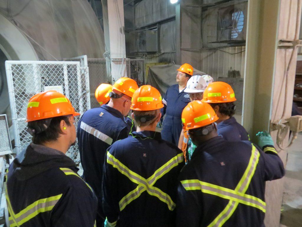 2017 MillOps students tour POGO mine